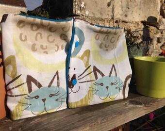 """Neck scarf/fleece children's """"cats"""""""