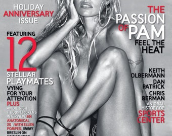 Pam Anderson and Anna Nicole Smith playboy magazines