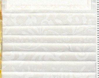 """SALE! White Out - (24) 2.5"""" Strips - Wilmington Prints - Crystals"""