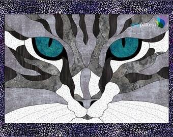 Yeux de chat gouttière Quilt Pattern