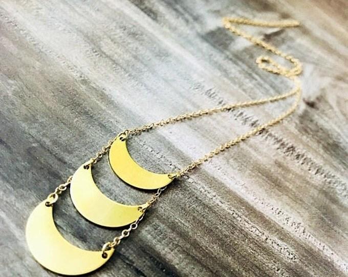 CLEARANCE SALE The Luna Necklace