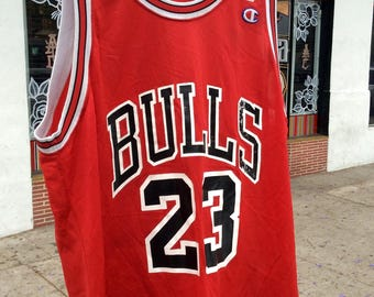 Vtg Michael Jordan CHAMPION Chicago Bulls jersey                     Sz 48