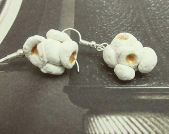 Popcorn Earrings