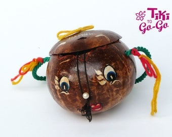 Little Miss Coco: Vintage Coconut Purse