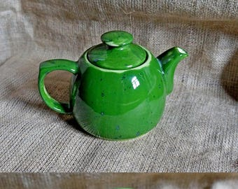 Gift|for|wife to husband gift|for|grandmother Retirement gifts|for|women Green teapot Ceramic teapot Tea gifts First house gift Green gift