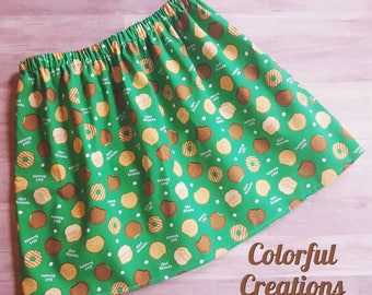 Girl Scout Cookies Skirt