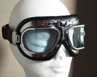 aviator goggles , vintage safety goggles , bikers goggles,