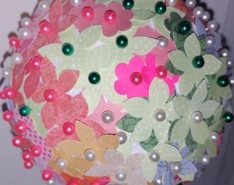 Paper flower Ornament 18