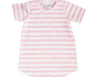 dress, pink dress, tunic, pink tunic, girl's dress, pink girl's dress, kids outfit