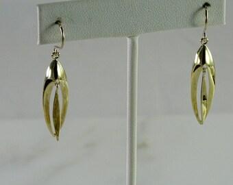 Sterling Dangle Pierced Earrings