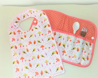 Portable Pocket covered baby pink