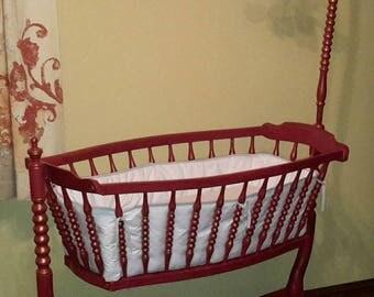 Stork baby swing chair cradle