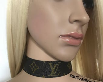 Vuitton Style Choker FREE WW SHIPPING!! Louis Vuitton Choker lv choker necklace gifts gift idea gift for her gift for sister