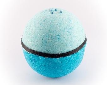 Cinderella Disney inspired bath bomb
