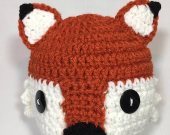 Infant Fox Hat