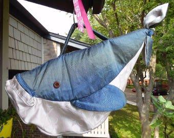 Blue Whale Handbag