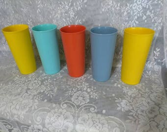 Tupperware #1348 Tumblers 16ounces. PreOwned. EXCELLENT CONDITION