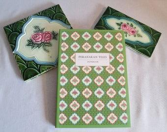 Peranakan Tiles Notebook