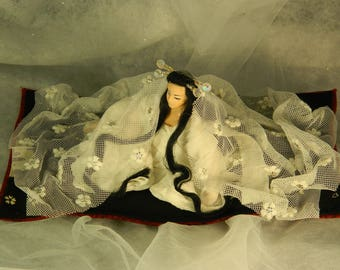 Yuki Onna, the Snow Woman yurei (7/8) : Even ghosts cry