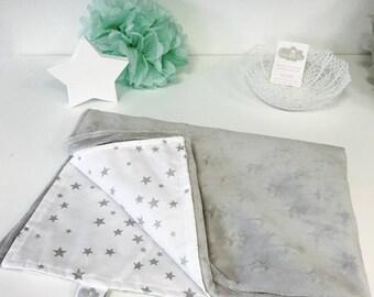 Cloud 5/100 stars baby blanket