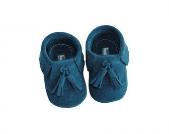 Handmade soft sole baby shoes