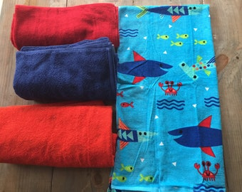 Towel pants, Towel shorts, Custom Sizes, Pants for swimmers, Swimmer clothing,