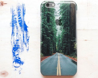 Case iPhone 7 Road Apple 6s Case Tree iPhone 5s Plus Case Green Phone 6 Case Spring iPhone 7 Plus Case Nature iPhone 5c Case 5 Apple Case