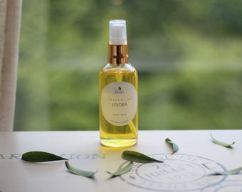 Jojoba Cleansing Oil for makeup removing. 100 ml.