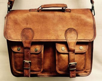 Messenger Bag, Leather Messenger Bag, Leather satchel, Leather laptop bag, Mens leather bag, Leather messenger bag