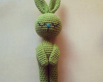 Amigurumi Crochet Pattern - Sleeping Bunny