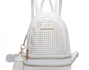 Small Backpack White