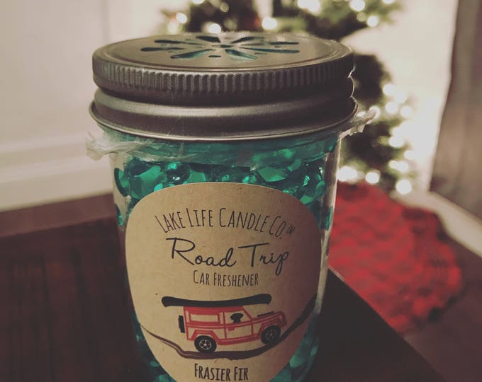 Road Trip Car Fresheners by Lake Life Candle Co. Made in WI