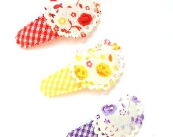 """Hair clip baby & girl """"JUSTINE"""" - french Baby Hair Clip"""