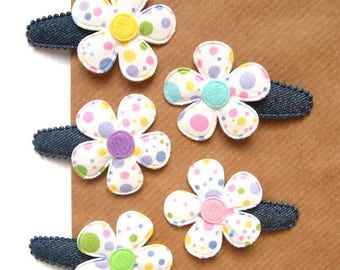 "Hair clip for baby & girl ""LYANA"" - french Baby Hair Clip"