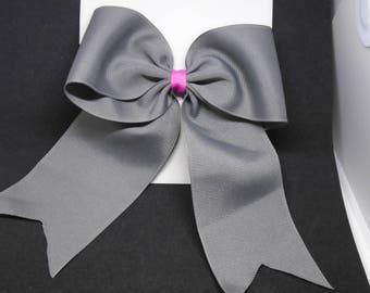 """6"""" Dark Gray bow"""
