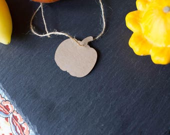 Pumpkin Hang Tags - Kraft - 10 to a Pack