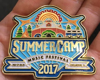 Summercamp Music Festival 2017 Hat Pin