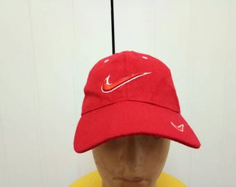 Rare Vintage NIKE Big Logo Cap Hat One Size Fit All