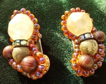 Vintage Hobe Designer earrings