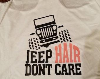 Jeep Hair, Jeep, Jeep Life, Jeep tee
