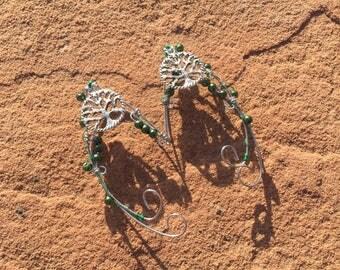Forest Region Elven Ear Cuffs