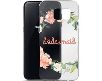 Bridesmaid Floral Samsung Case
