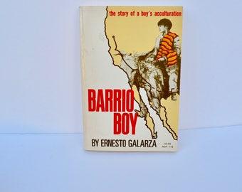 Barrio Boy by Ernesto Galarza (1975, Paperback)