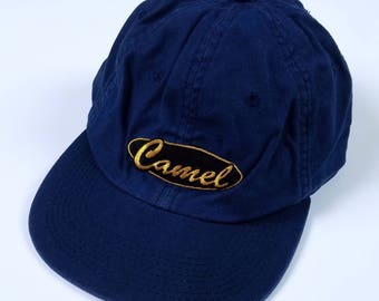 Camel Cigarettes Baseball Cap, Camel Smokes Dad Hat, Vintage Smokers Headwear