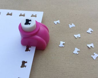 A hole punch bow scrapbooking