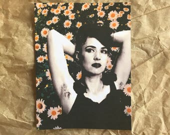 Kathleen Hanna Sticker