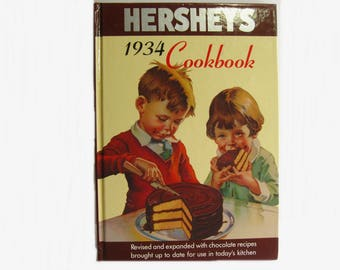 1934 Hershey's Cookbook Revised and expanded with chocolate recipes 1996 edition