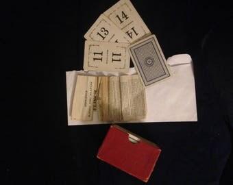 Vintage Flinch Card Game