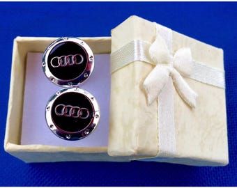 Audi Cufflinks set~Handmade in the USA~FAST Shipping from the USA