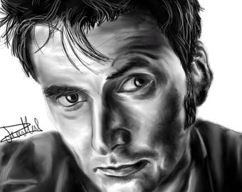 David Tennant Digital [PRINT]